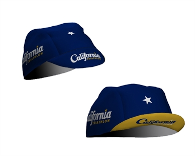 California Triathlon Head Gear Image