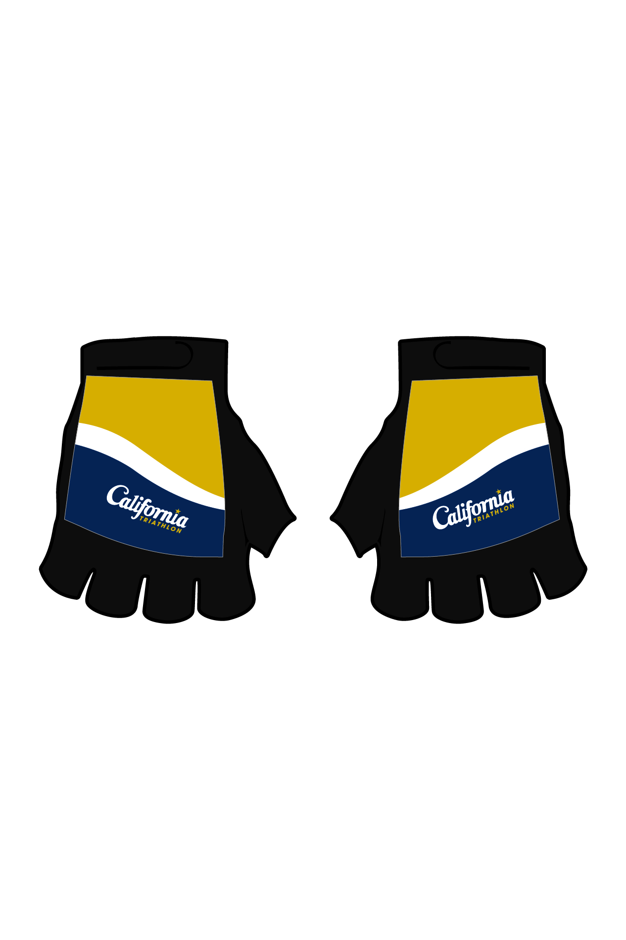 California Triathlon Gloves Image