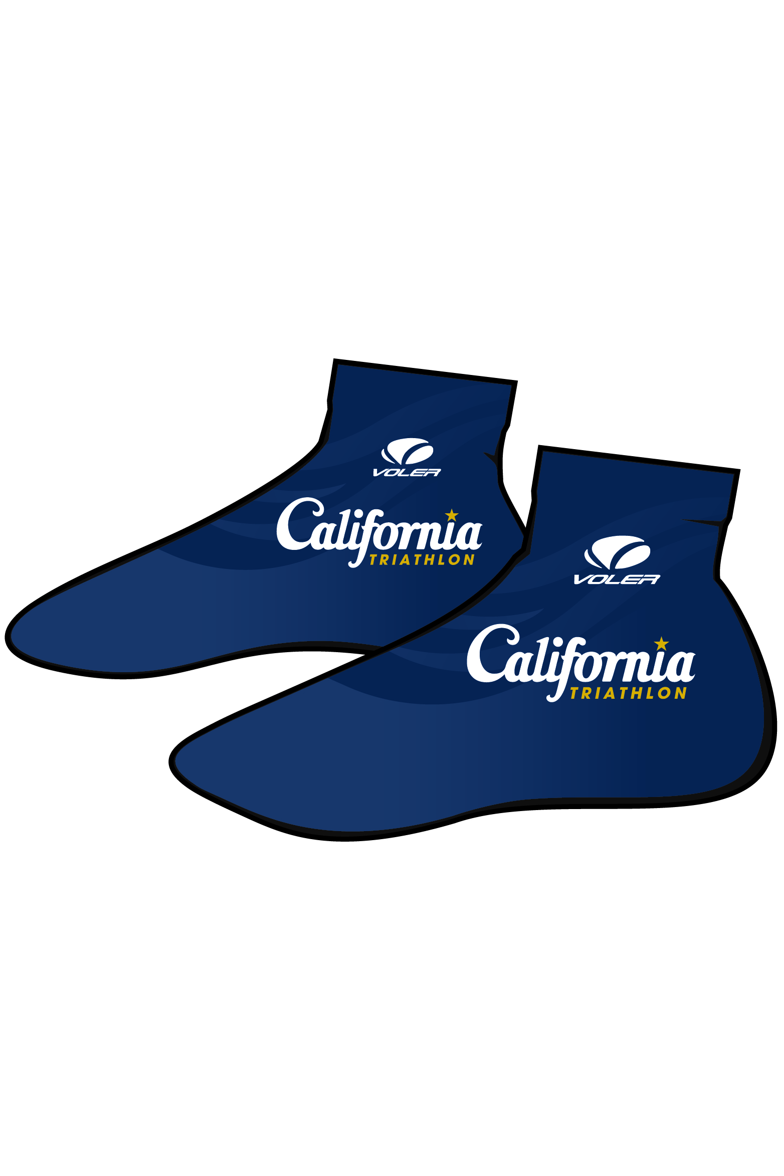 California Triathlon Shoe Covers Image