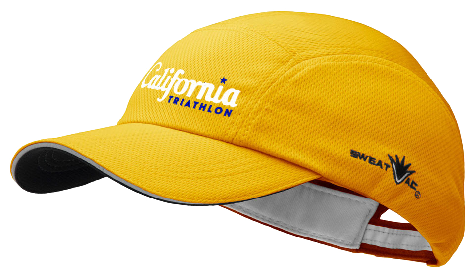 California Triathlon Race Hat Image