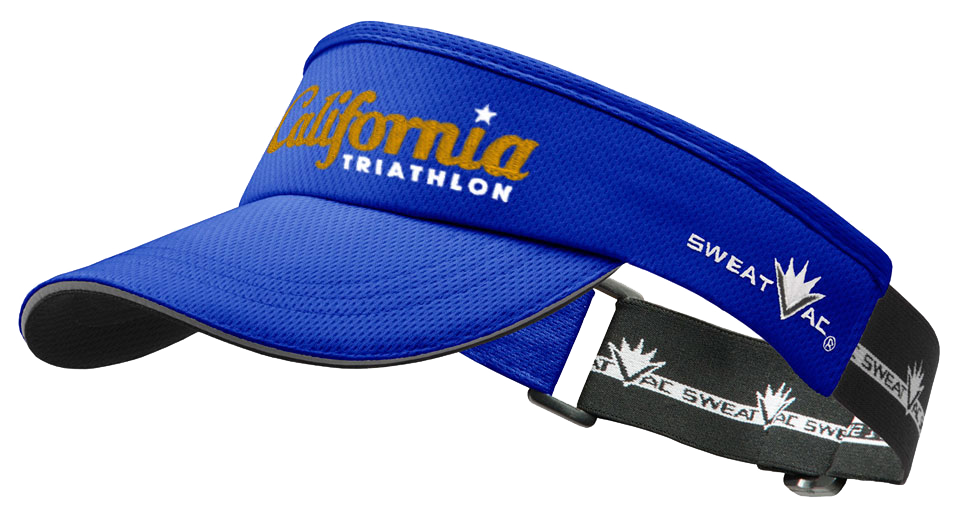 California Triathlon Race Visor Image