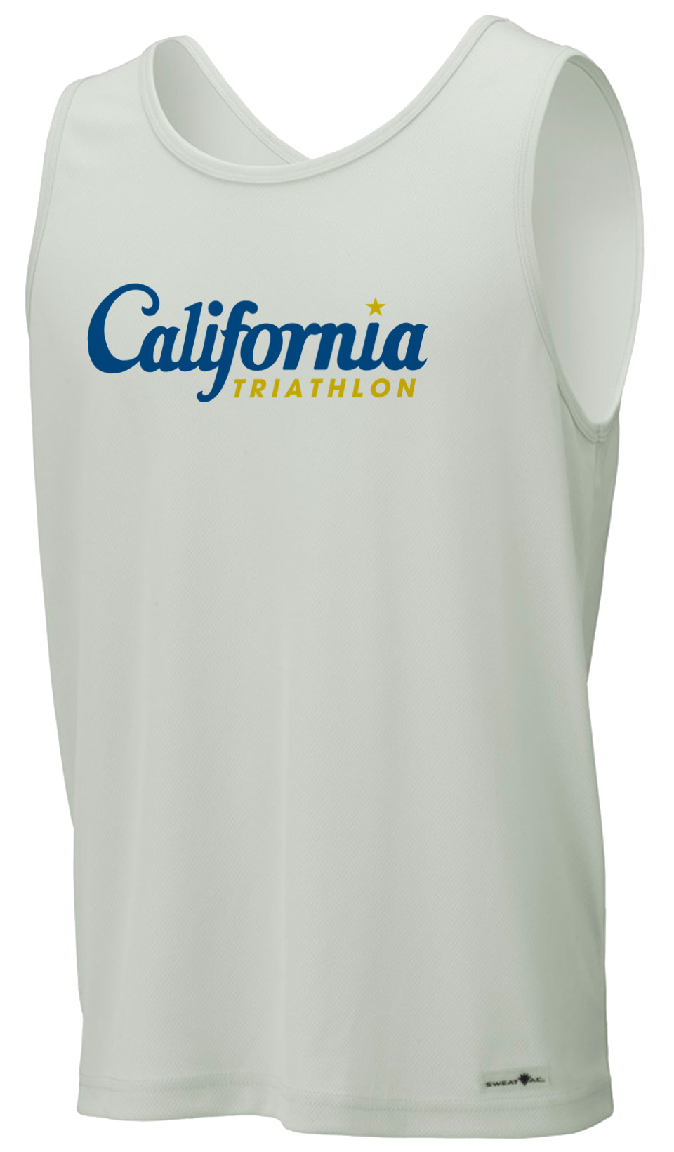 California Triathlon Unisex Race Tank Image