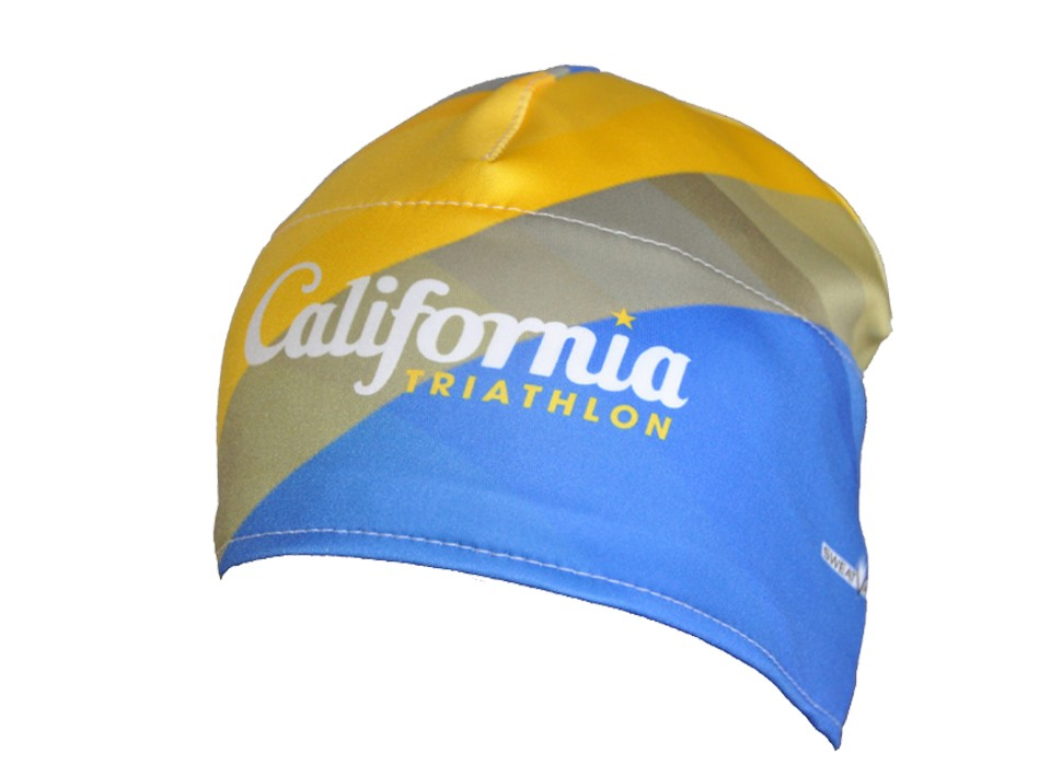 California Triathlon Full Dye Beanie Image