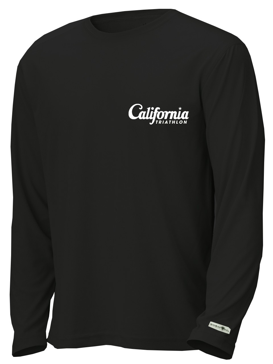 California Triathlon Unisex Long Sleeve Race Shirt Image