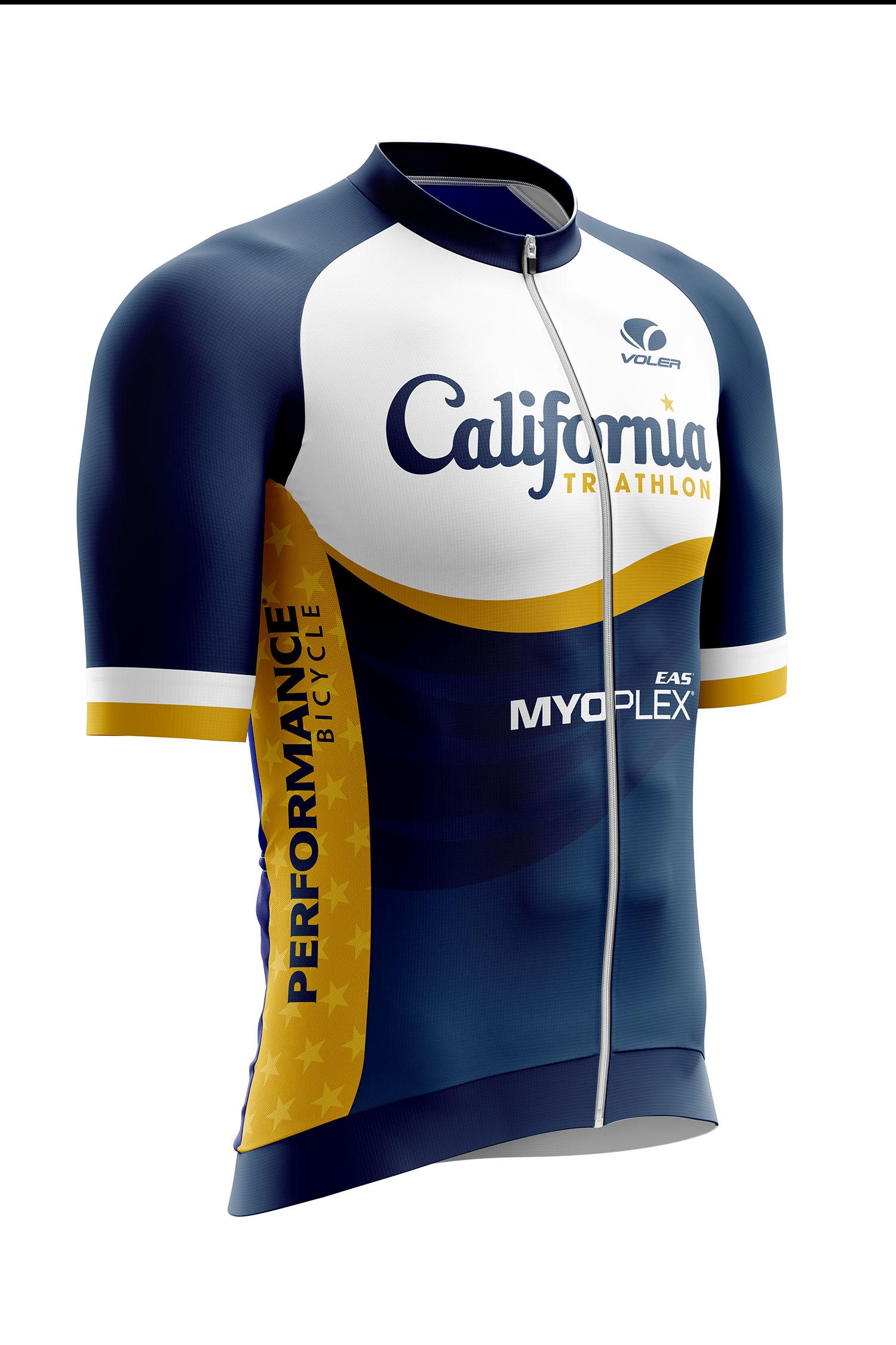 California Triathlon Velocity Jersey Image