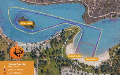 2018 Trick or Tri: Swim Course Preview